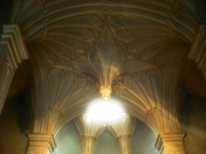 Roof of the chapel, Strawberry Hill