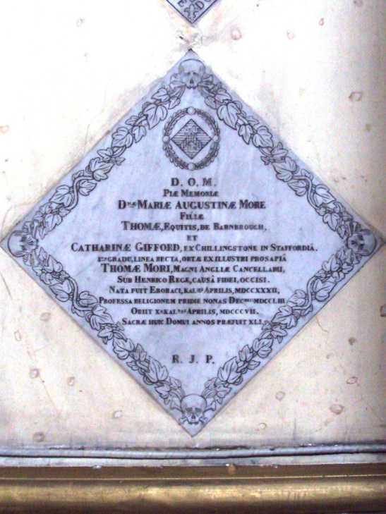 More inscription