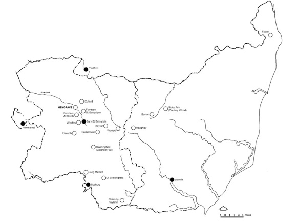 Suffolk missions map