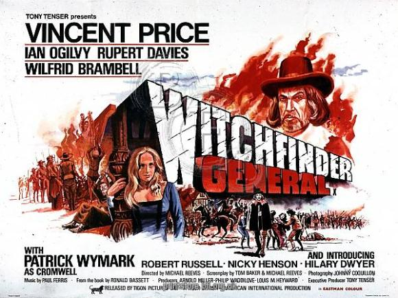 Film Poster for Michael Reeves' Witchfinder General (1968)